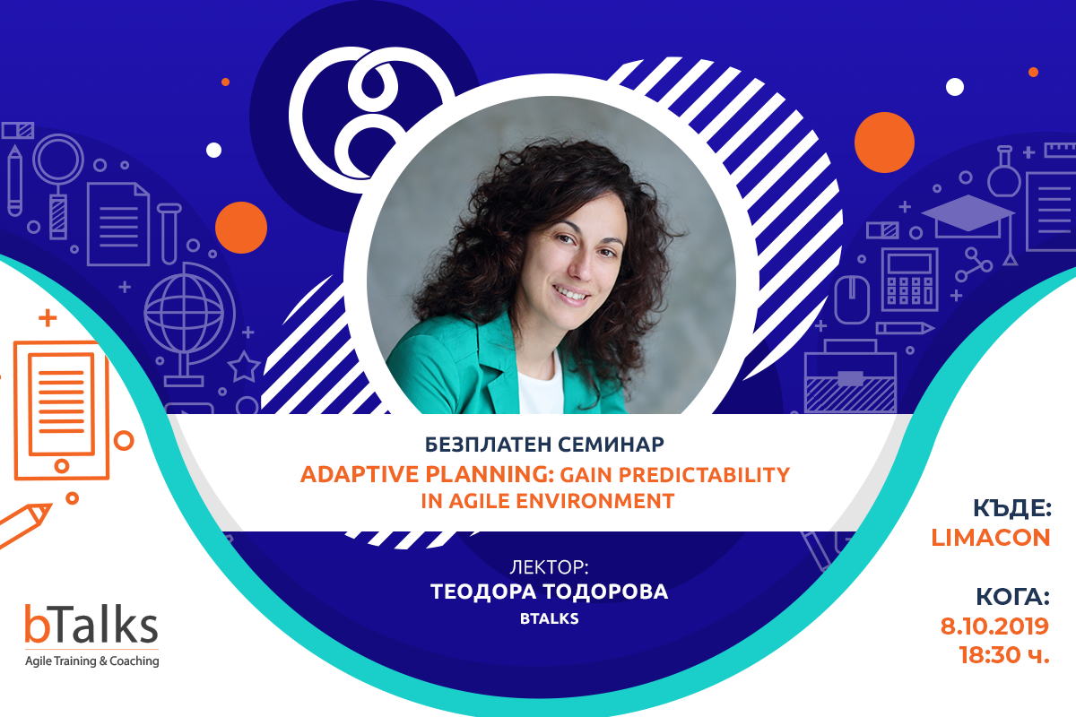 Seminar Adaptive Planning with Teodora Todorova