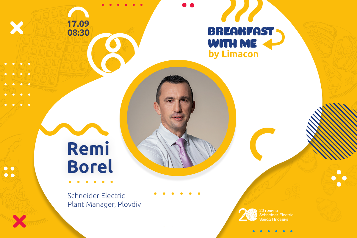Breakfast With Me: Remi Borel, Schneider Electric