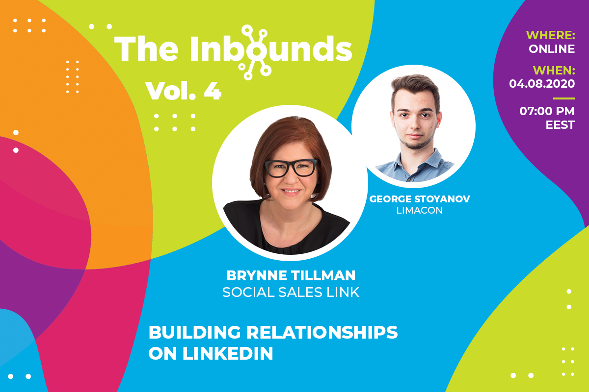 The Inbounds 4 with Brynne Tillman (Social Sales Link): Building relationships on LinkedIn