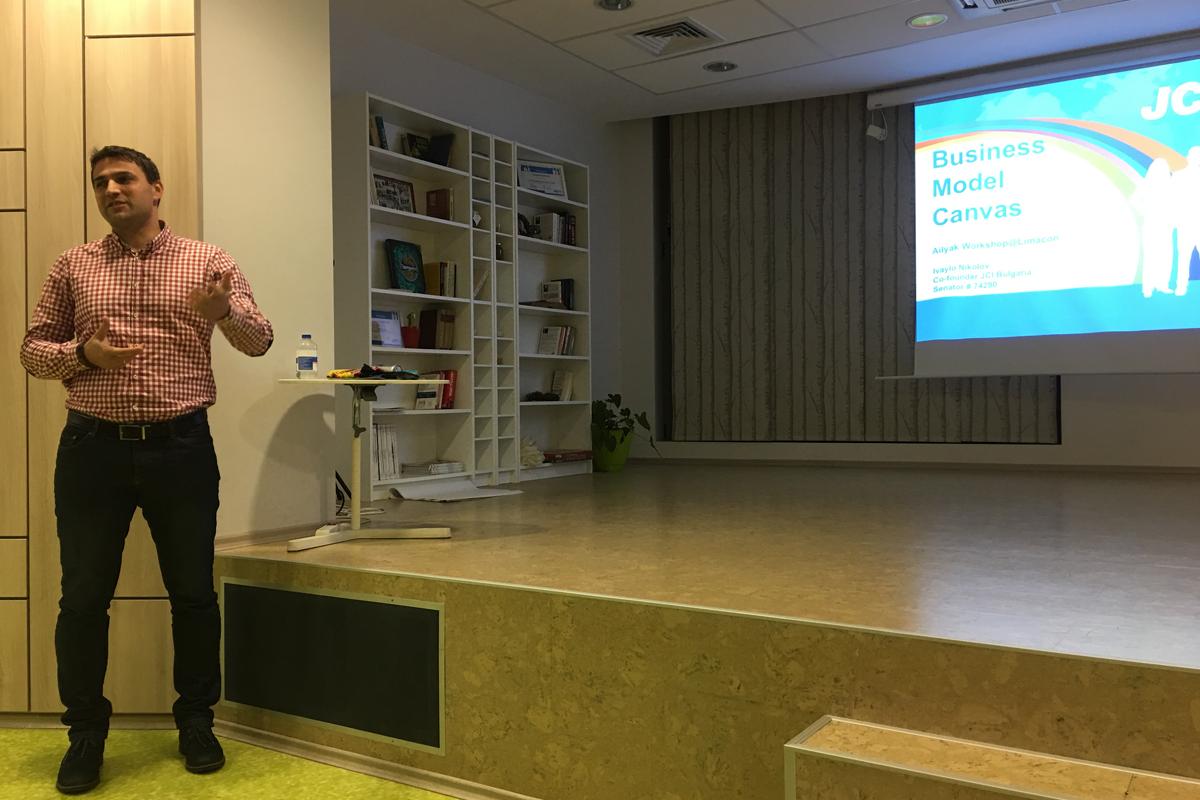 """Уъркшоп """"9-те елемента на всеки бизнес модел с Business Model Canvas"""" с гост-лектор – Ивайло Николов"""