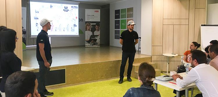 Събитието Поглед в бъдещето: Един ден с екипа на ABB се състоя на 17.10.2018 г. в Limacon Event Center, в който за първи път се проведе целодневно мероприятие, посветено на една единствена компания.