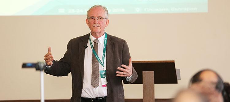 Джон Стайфи беше лектор на конференцията Reinventing Organizations в Пловдив