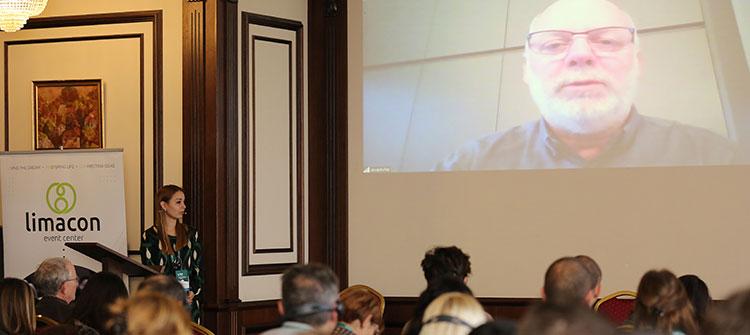 Едвин беше лектор на конференцията Reinventing Organizations в Пловдив