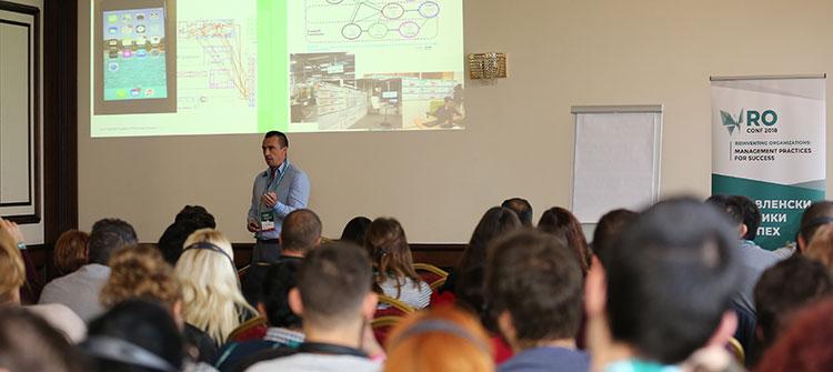 Реми Борел беше лектор на конференцията Reinventing Organizations в Пловдив