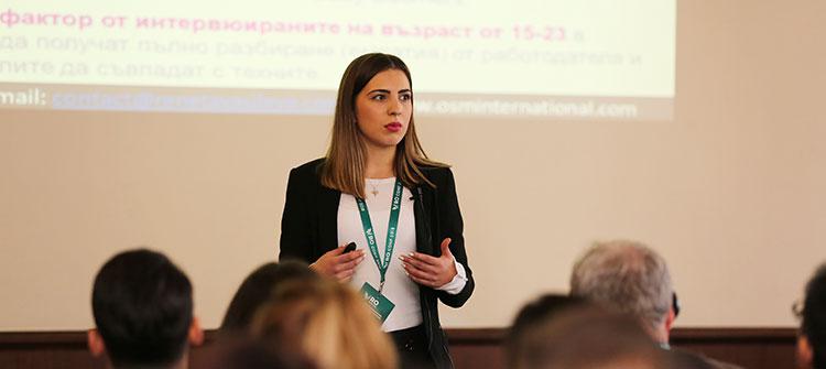 Ренета Василева беше лектор на конференцията Reinventing Organizations в Пловдив