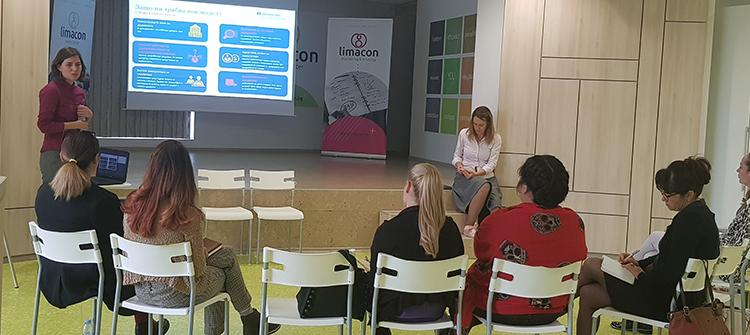 2 Пенка Коркова и Невена Давидова от denkstatt България. Моделът на бъдещето: Creating Shared Value (CSV)