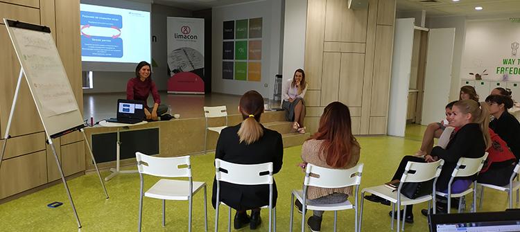 Пенка Коркова и Невена Давидова от denkstatt България. Моделът на бъдещето: Creating Shared Value (CSV)