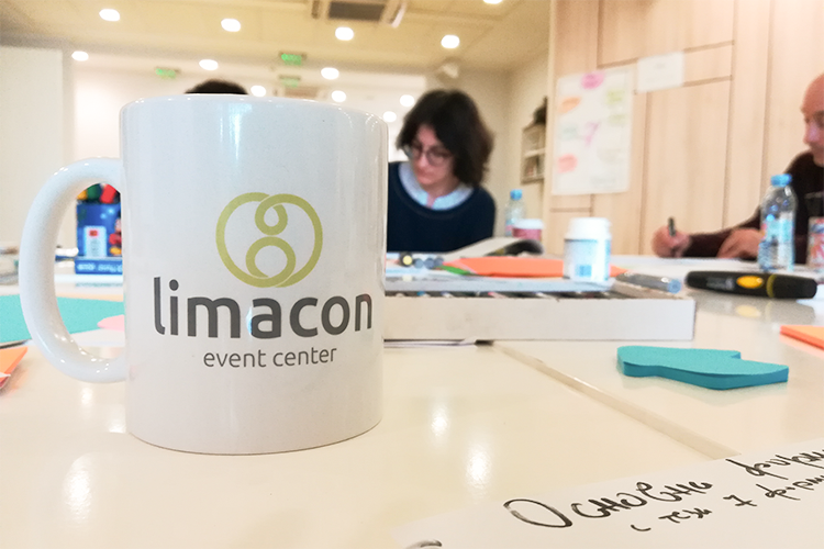 Събитие Визуална Лаборатория с Росица Христева в Limacon Event Center 3