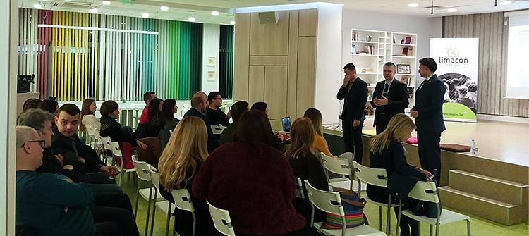 Семинар на тема комуникациите като управленска функция, с лектори Любомир Аламанов, Александър Христов и Даниел Киряков 4