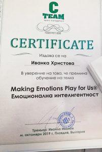 Еднодневно обучение по емоционална интелигентност с Ивайло Иванов
